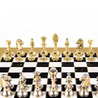 Шахматы эксклюзивные Manopoulos, (28х28см) S32BLA