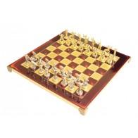 Шахматы эксклюзивные Manopoulos, Титаны (36х36см) S6RED