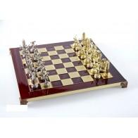 Шахи ексклюзивні Manopoulos, Геркулес і напівбоги Олімпу (36х36см) S7RED