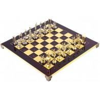 Шахматы эксклюзивные Manopoulos, Минойский воин (36х36см) S8RED