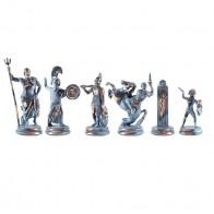 Шахматы эксклюзивные Manopoulos, Греческая мифология (34Х34см) SK4BBLU