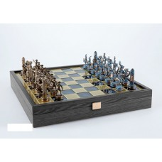 Шахи ексклюзивні Manopoulos, Грецька міфологія (34Х34см) SK4BBLU