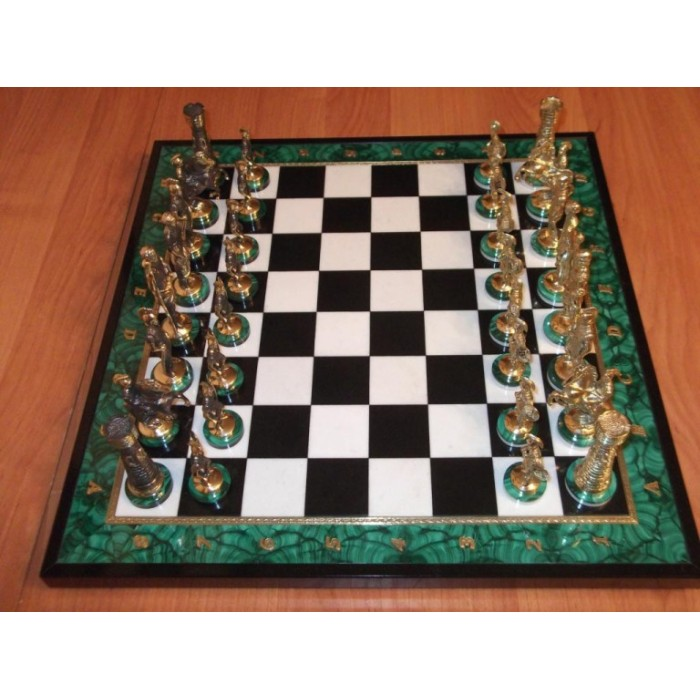 Шахи малахітові Спартанські
