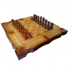 Шахи + нарди + шашки ручної роботи rr-000h01
