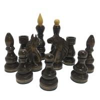 Шахові фігури ручної роботи D34GN (грива ліва/права)