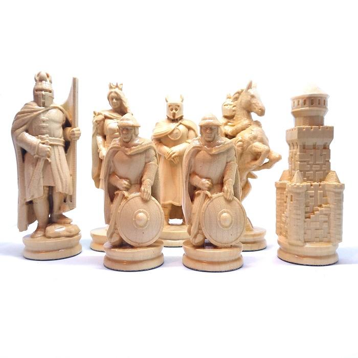 Шахматы ручной роботы Рыцари (55х55см) NS-SH7