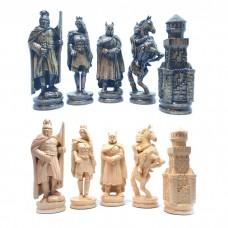 """Шахматные фигуры деревянные """"Рыцари"""""""