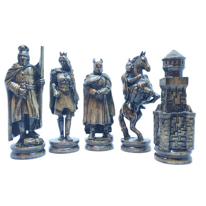 """Шахові фігури дерев'яні """"Лицарі"""""""