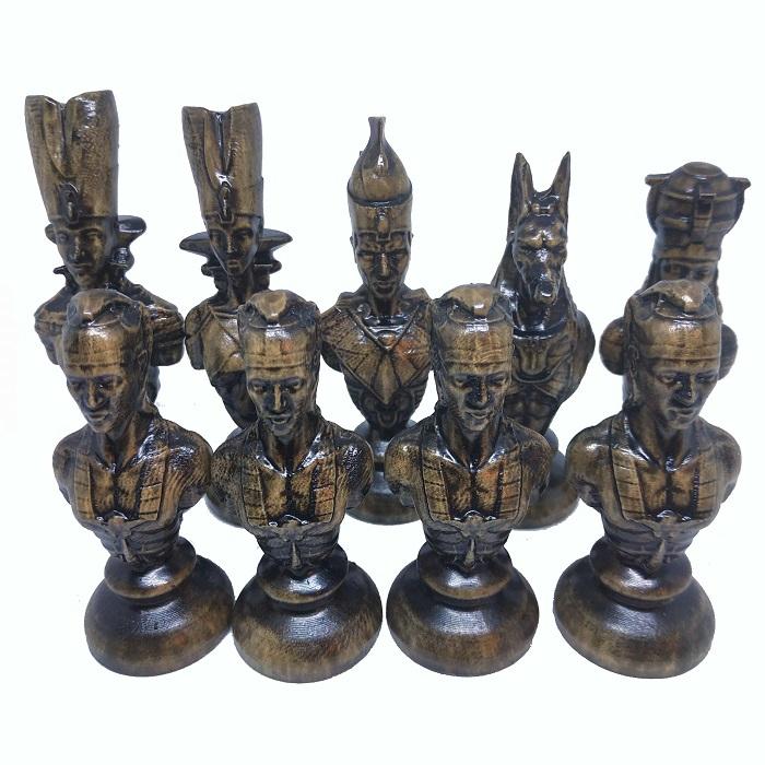 Шахматные фигуры деревянные Египет