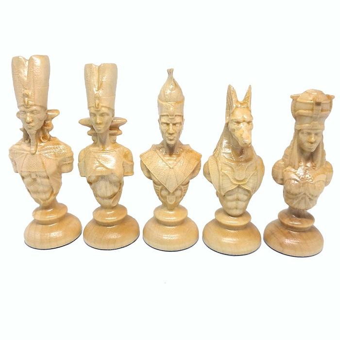 """Шахові фігури дерев'яні """"Єгипет"""""""