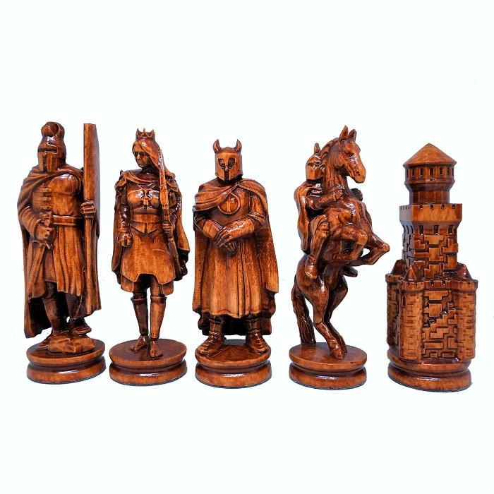 Шахматы ручной роботы Рыцари (55х55см) NS-SH13