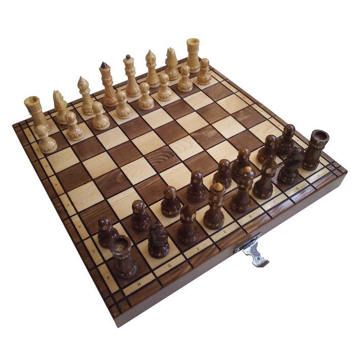 Шахи ручної роботи H-101 (50х50см)