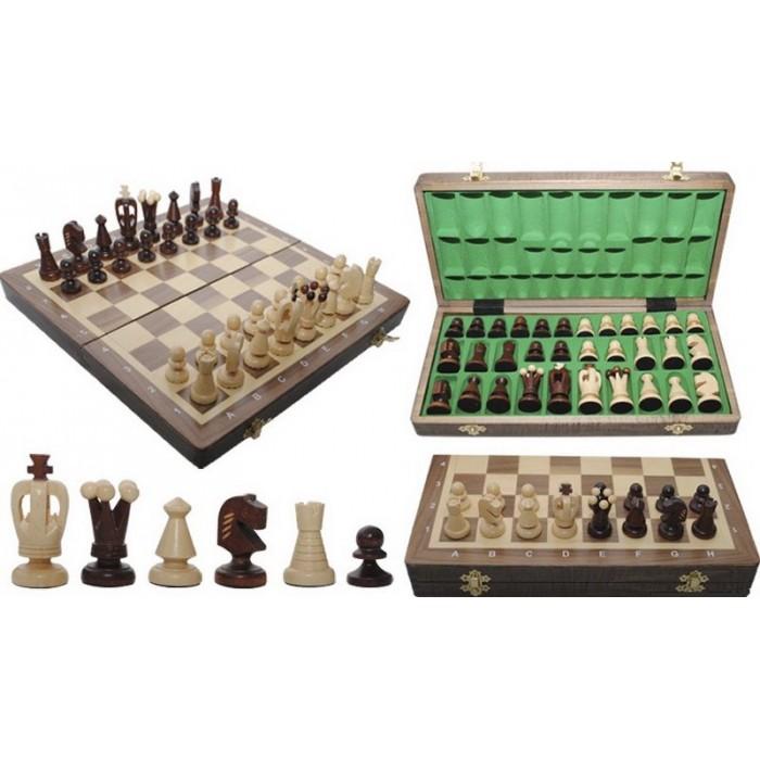 Шахматы Королевские средние / Krolewskie Srednie (орех)