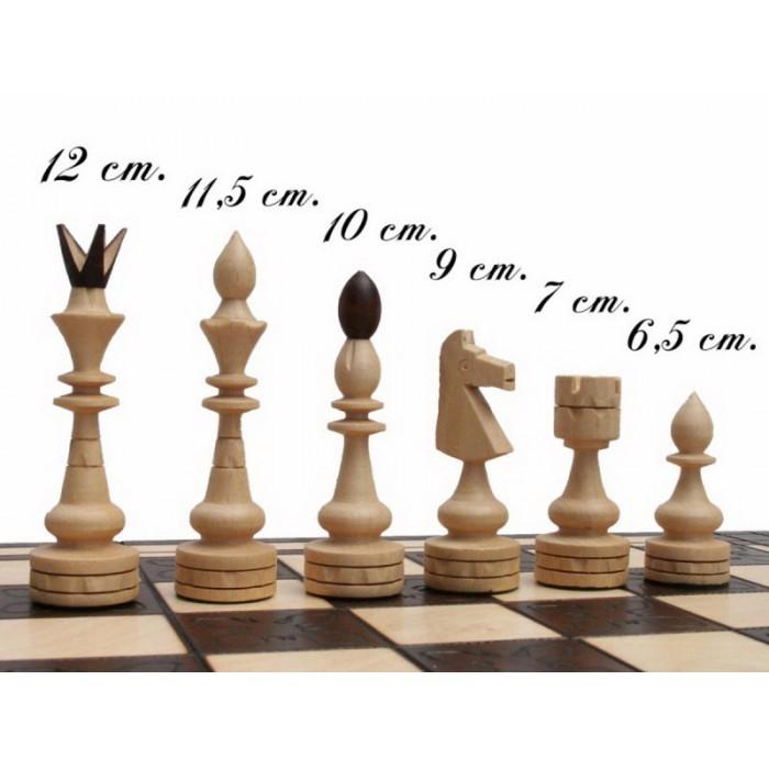 Шахматы Индийские большие / Indyjskie с-119
