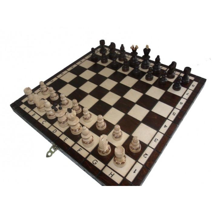 Шахматы Жемчужина средняя с вкладкой / Perelka z wkladka c-134a