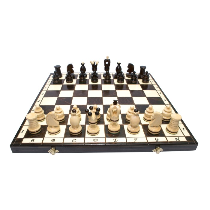 Шахматы Королеские инкрустированные / Krolewskie Inkrustowane с-136а