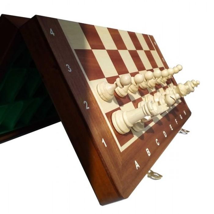 Шахматы Магнитные интарсия (Madon) с-140f