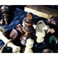 Шахматы подарочные с фотопечатью №9