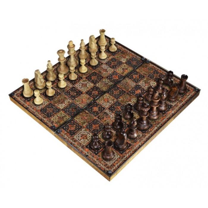 Шахматы подарочные с фотопечатью №13