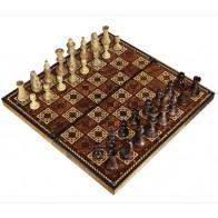 Шахматы подарочные с фотопечатью №14