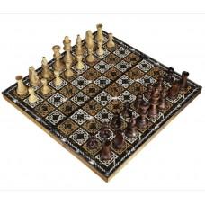 Шахматы подарочные с фотопечатью №19