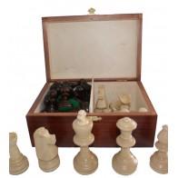 Шахові фігури Стаунтон (Staunton) № 5 в коробці (Madon)