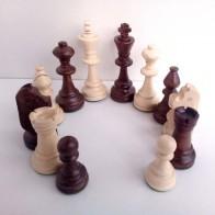 Шахові фігури Стаунтон (Staunton) №6 в пакеті (Madon)