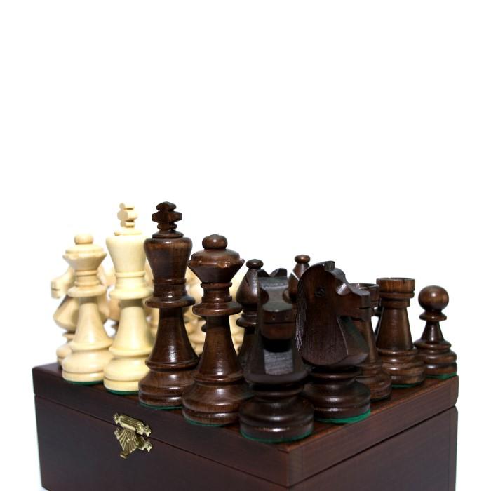 Шахматные фигуры Стаунтон (Staunton) №6 в коробке (Madon)