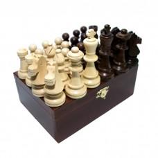 Шахові фігури Стаунтон (Staunton) № 6 в коробці (Madon)