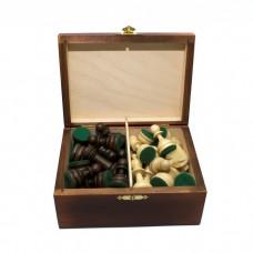 Шахматные фигуры Стаунтон (Staunton) №4 в коробке (Madon)