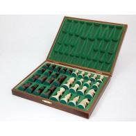 Шахові фігури Стаунтон Люкс (Staunton Lux) № 5 в коробці