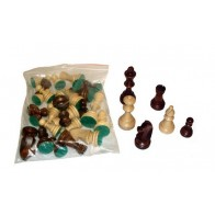 Шахматные фигуры Стаунтон (Staunton) №4 в пакете