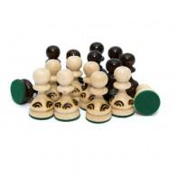 Шахматные фигуры Жемчужина в пакете