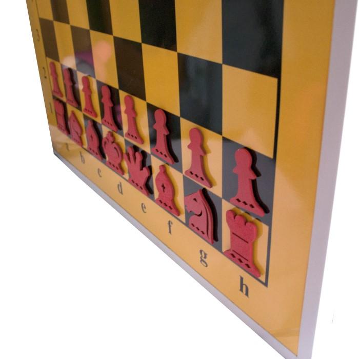 Демонстрационная шахматная доска 100 х 100 см