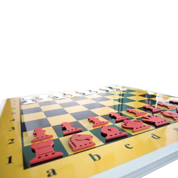 Демонстраційна шахівниця 80 х 80 см