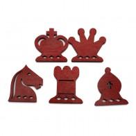 Демонстрационная шахматная доска 80 х 80 см