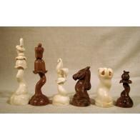 Скульптурные шахматы. Цветы в стиле модерн.