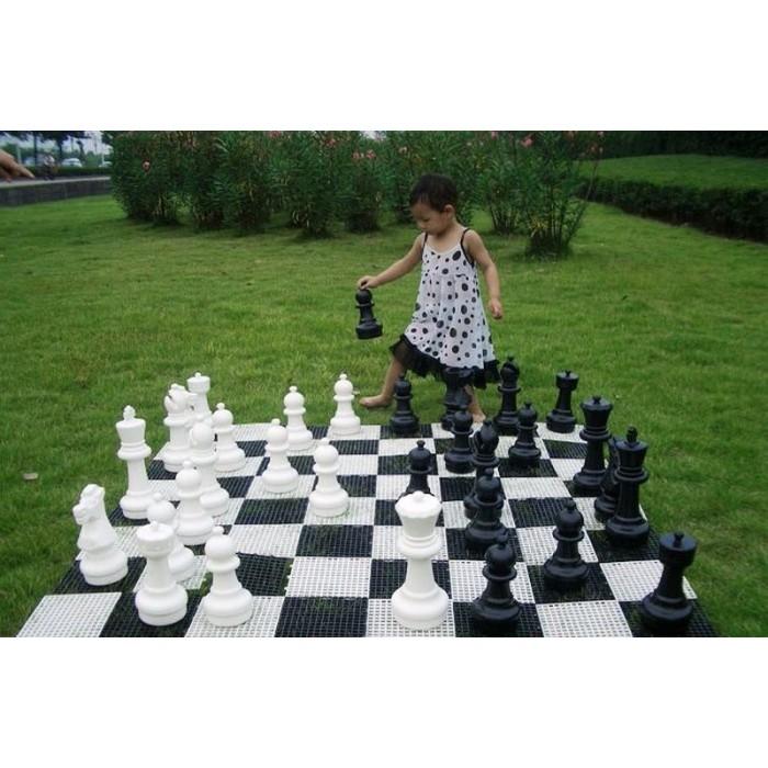 Садовые шахматы СШ-12. Король 310 мм