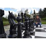 Гигантские шахматы. Высота короля 1460 мм. Стеклопластик