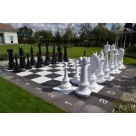Гігантські шахи. Висота короля 1460 мм. Склопластик