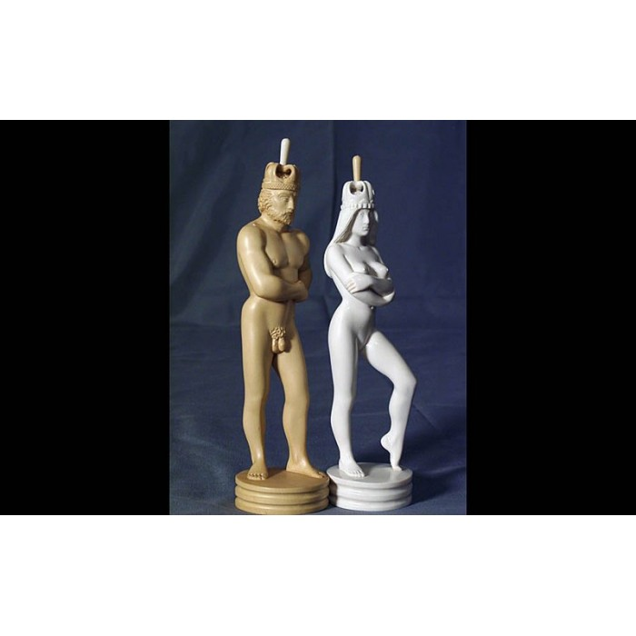 """Большие скульптурные шахматы """"Противостояние"""""""