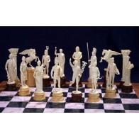 """Скульптурні шахмати """"Олімпійські боги"""". Склопластик"""