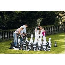 Великі садові шахмати СШ-25. Висота короля 635 мм