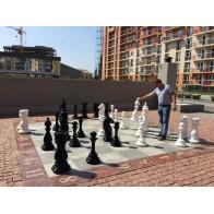 Великі шахмати для парків. Висота короля 900 мм. Склопластик