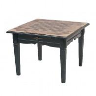 Шахматный стол ручной роботы корень американского ореха, оливкового ясеня
