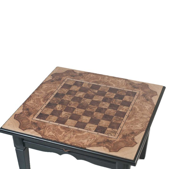 Шаховий стіл ручної роботи корінь американського горіха, оливкового ясеня