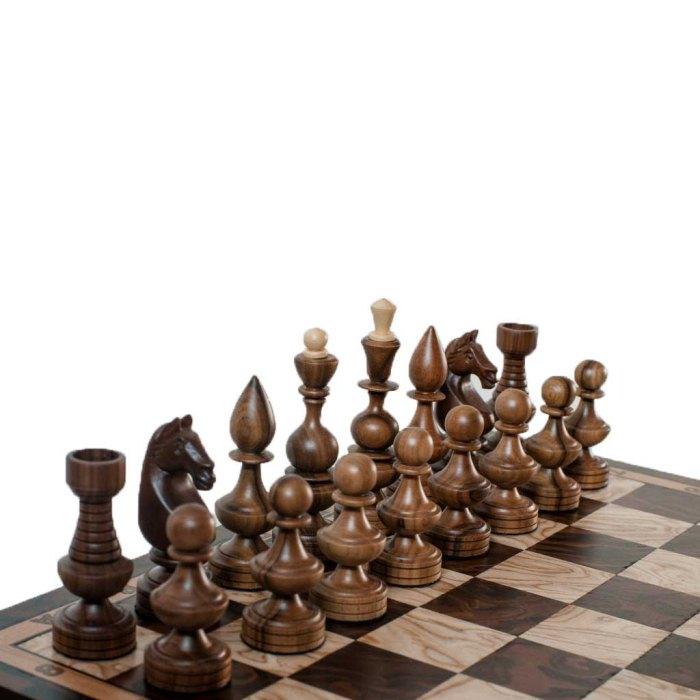 Шаховий стіл Мармуровий квадратний