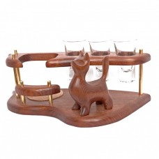 Міні-бар горілчаний Кіт стоячий