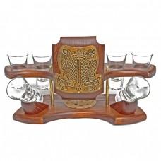 Міні-бар горілчаний Захисник вітчизни (золото)