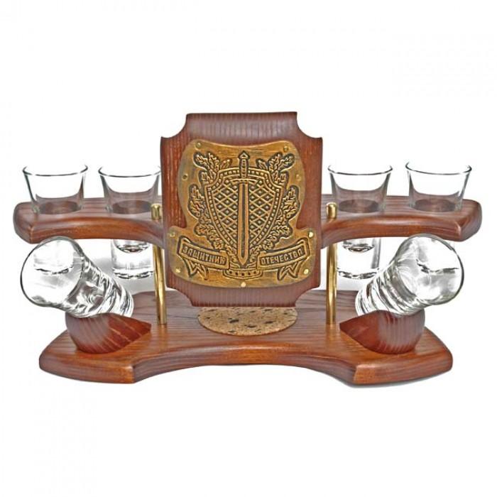 Мини-бар водочный Защитник отечества (золото)